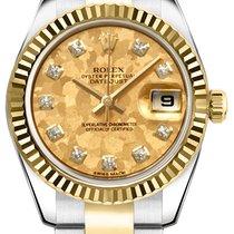 Rolex Lady-Datejust nuevo Automático Reloj con estuche original 179173-YGCDO