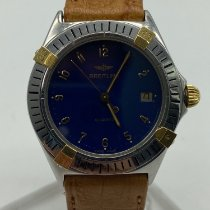 Breitling Callisto Or/Acier Bleu Arabes France, Paris