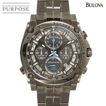 Bulova Steel 46mm Quartz 98B229 pre-owned