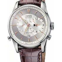 Oris Artelier Worldtimer new Automatic Watch with original box and original papers 690.7581.40.51.LS