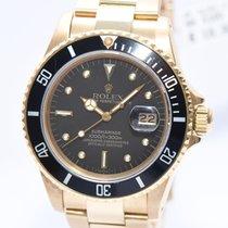 Rolex Submariner Nipple Dial 18Kt Gold Ref.16808 von 1982