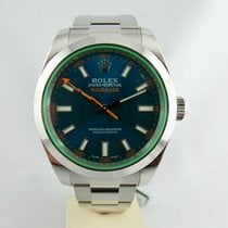 ロレックス (Rolex) Milgauss Blue Dial,  Q.te Blu V