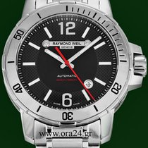 Raymond Weil Nabucco 44mm Automatic Date 200m Stainless Steel