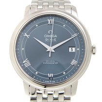 歐米茄 De Ville Stainless Steel Blue Automatic 424.10.40.20.03.002