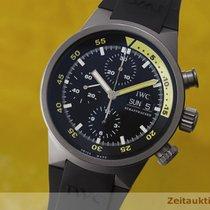 IWC Aquatimer Chronograph Stahl Automatik Herrenuhr 3719