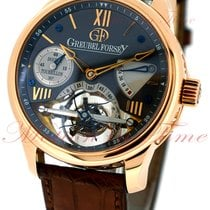 Greubel Forsey Rose gold 43.5mm Manual winding GF02 OR5 CN pre-owned