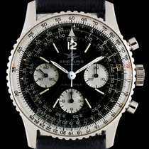 Breitling Navitimer Steel 40mm Black No numerals