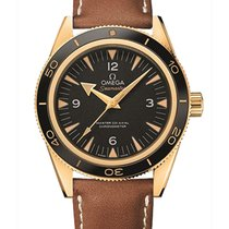 Omega Seamaster 300 Yellow gold 41mm Black