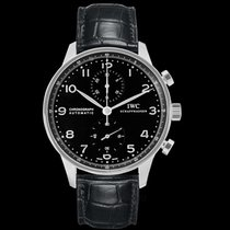 IWC Portuguese Chronograph Steel 40.9mm Black United States of America, California, San Mateo