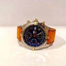 Breitling Chronomat Steel gold 39mm blue dial