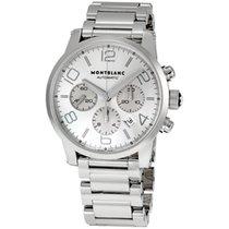 Montblanc Timewalker Silver Dial Steel Case Men's Watch