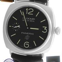 Panerai MINT 2016  PAM 380 Radiomir Black Seal Logo 45mm...