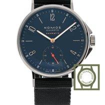 NOMOS Ahoi Neomatik Atlantic Blue Dial Blue-Black Textile...