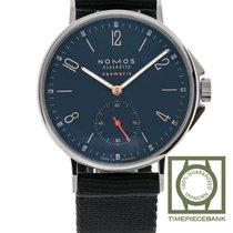 NOMOS Ahoi Neomatik Steel 36.3mm Blue Arabic numerals
