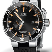 Oris Carlos Coste Limited Edition Titan 46mm Schwarz Keine Ziffern