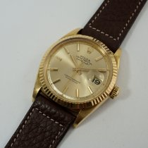 Rolex Yellow gold Automatic 36mm 1966 Datejust (Submodel)
