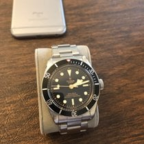 Tudor 79230N Steel 2017 Black Bay 41mm pre-owned