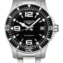 Longines HydroConquest Steel 34mm Black Arabic numerals United States of America, New York, New York