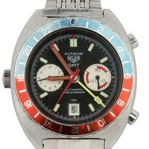 Heuer Steel 42mm Automatic pre-owned United States of America, New York, Lynbrook