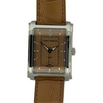 Cuervo y Sobrinos Prominente Steel 32mm Brown No numerals