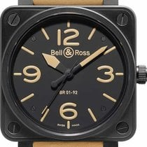 Bell & Ross BR 01-92 Steel 46mm Black Arabic numerals United States of America, California, Moorpark