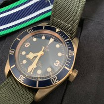 Tudor Black Bay Bronze Bronce 43mm Azul Árabes