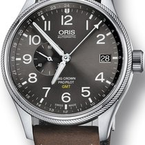 Oris Big Crown ProPilot GMT Steel 45mm Grey Arabic numerals United States of America, New York, New York