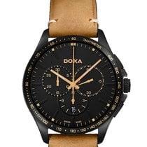 Doxa Steel 44mm Quartz 287.70Y.101.81, Trofeo Quartz Chronograph new Australia, Sydney