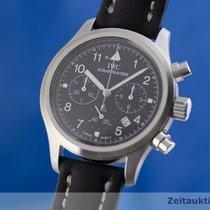 IWC 3741 Stahl 2000 Fliegeruhr Chronograph 36.5mm gebraucht