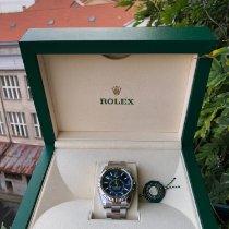 Rolex Sky-Dweller Ocel 42mm Modrá Bez čísel