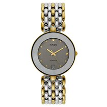 Rado Florence Gold/Steel 42mm Silver United States of America, Florida, Sarasota