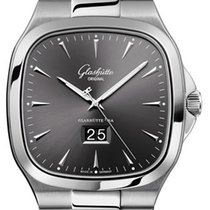 Glashütte Original 2-39-47-12-12-14 Steel 2019 Seventies Panorama Date 40mm new