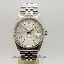 Rolex Stříbro Automatika Stříbrná 36mm použité Datejust