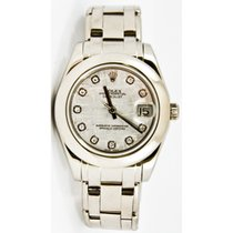 Rolex Lady-Datejust Pearlmaster 81209 подержанные