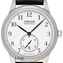 Union Glashütte Steel 41mm Automatic D010.428.16.017.00 new