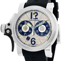 Graham Chronofighter new Automatic Watch with original box 2TRBS.B11A.K10A
