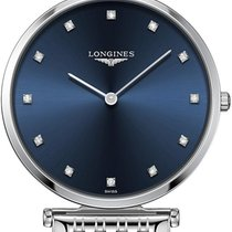 Longines La Grande Classique Steel 36mm Blue United States of America, New York, Airmont