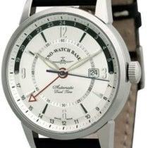Zeno-Watch Basel 6069GMT-g3 +g1 schwarz nuevo