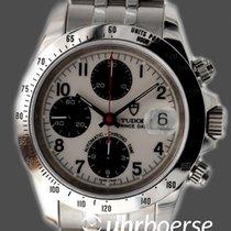 帝陀 (Tudor) Prince Date Automatik Chronograph Edelstahl um 1998...