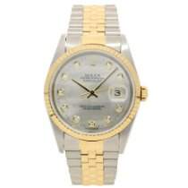 Rolex Datejust 16233 - Gents Watch - Diamond Dial - 2002