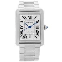Cartier Tank Solo Xl Automatic Stainless Bracelet Watch W5200028