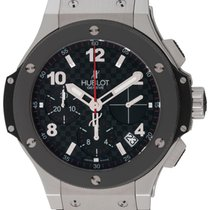 Hublot : Big Bang :  342.SB.131.RX :  Stainless Steel & Black...