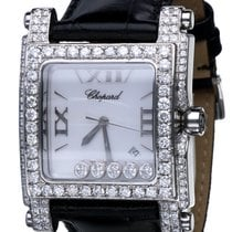 Chopard Happy Sport Square Steel Flying Diamonds (36 x 47 mm)