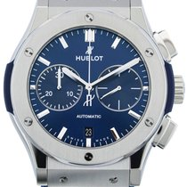 Hublot Classic Fusion Blue Chronograph Automatic Titanium...