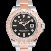 Rolex Yacht-Master 40 Rose gold 40.00mm Black United States of America, California, San Mateo