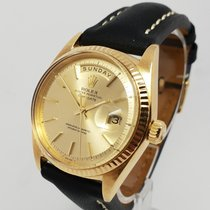 Rolex Day-Date Mens 18K Yellow Gold 36mm Watch