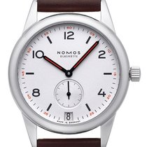 NOMOS Club Datum Steel 38,50mm White