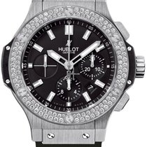 Hublot Big Bang 44 mm new Automatic Chronograph Watch with original box and original papers 301.SX.1170.RX.1104