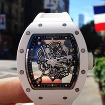 Richard Mille NEW RM 055 Bubba Watson White Watch