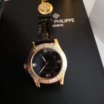 Patek Philippe Neptune Yellow gold 36mm Black